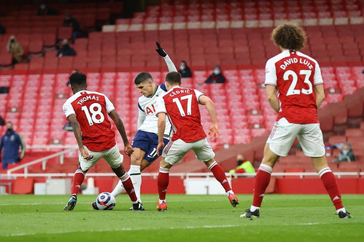 Erik Lamela dan harika rabona golü #1