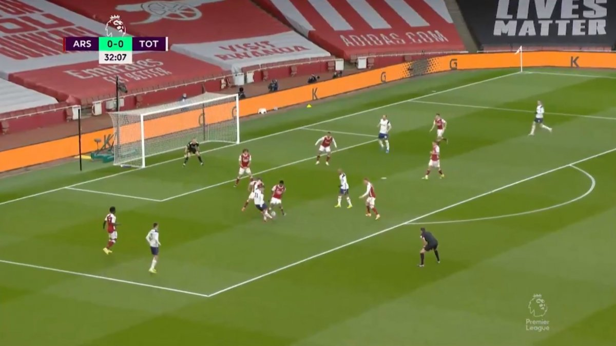 Erik Lamela dan harika rabona golü #5