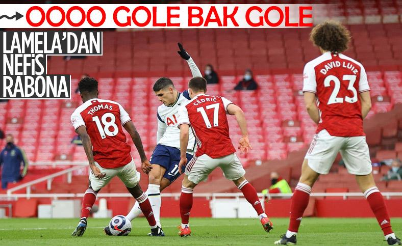 Erik Lamela'dan harika rabona golü