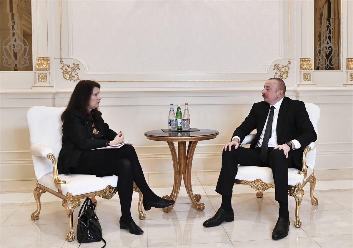 İlham Aliyev: Ermenistan ile müzakere sürecini başlattık #1
