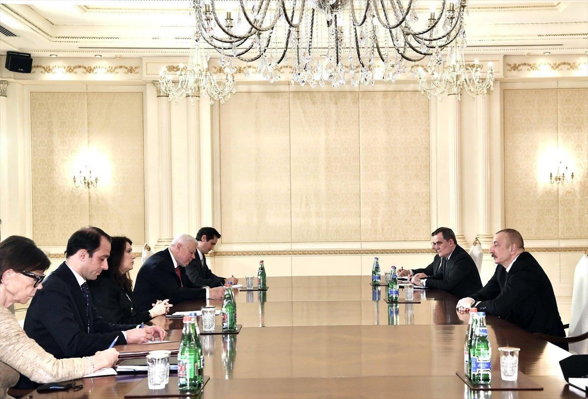 İlham Aliyev: Ermenistan ile müzakere sürecini başlattık #2