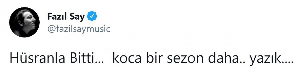 Fazıl Say, Fenerbahçe ye sitem etti #3