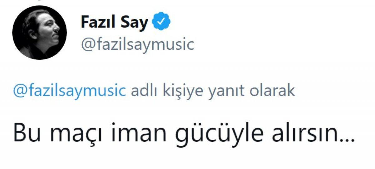 Fazıl Say, Fenerbahçe ye sitem etti #5