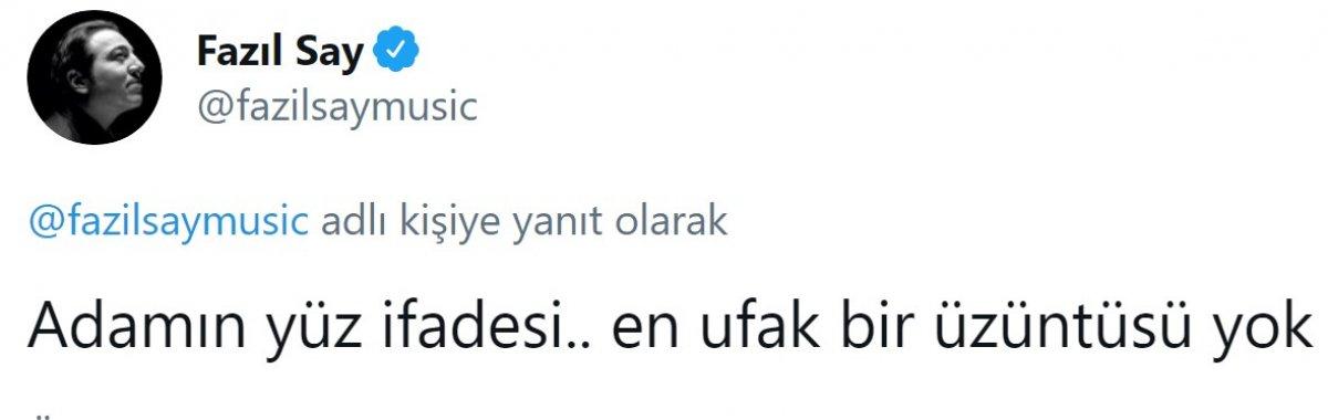 Fazıl Say, Fenerbahçe ye sitem etti #7